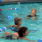 Water aerobics-Best of all there is always something to laugh about