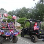 July 4th 2013-Some arrived in style