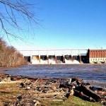 Dam after rain storm